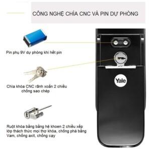 Tinh NangKhóa vân tay Yale YMF 40-APAC